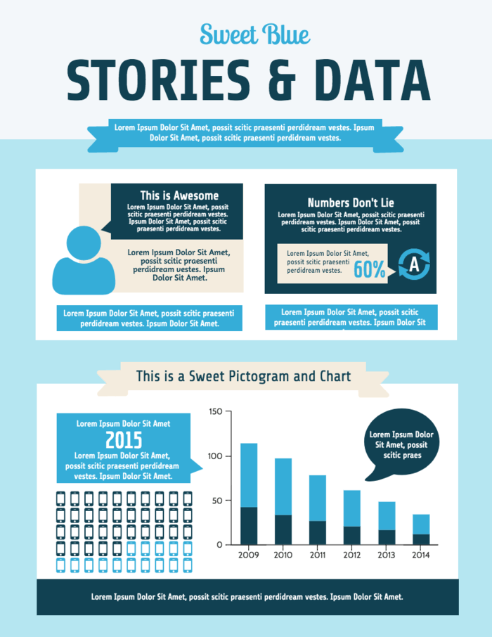 Survey Data Infographic Template