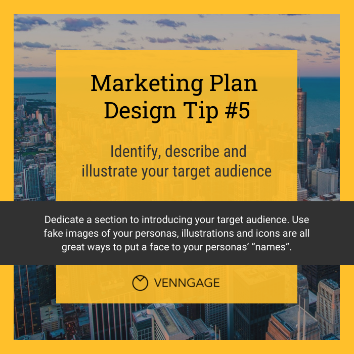 Yellow Marketing Plan Instagram Post Template