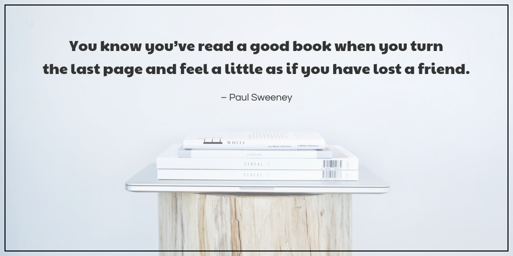 Simple Quote World Book Day Twitter Post Template
