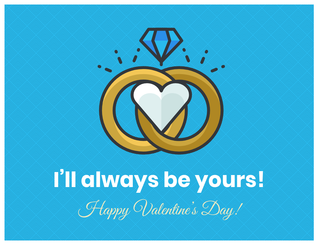 Spouse Valentine's Day Card Template