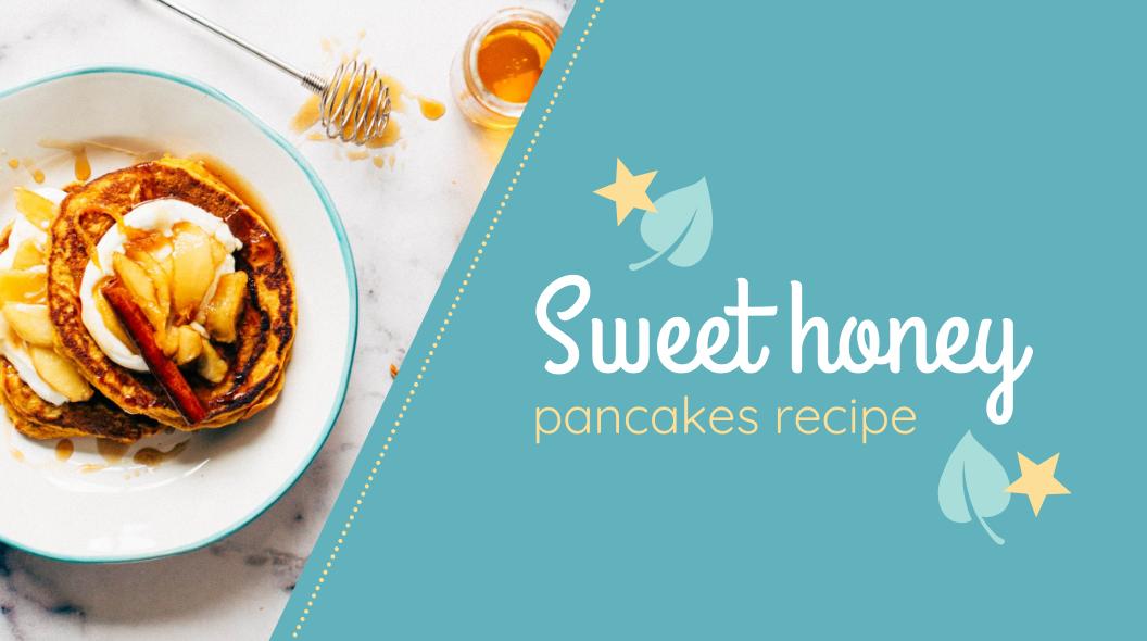Diy Recipe Cooking Blog Banner Template