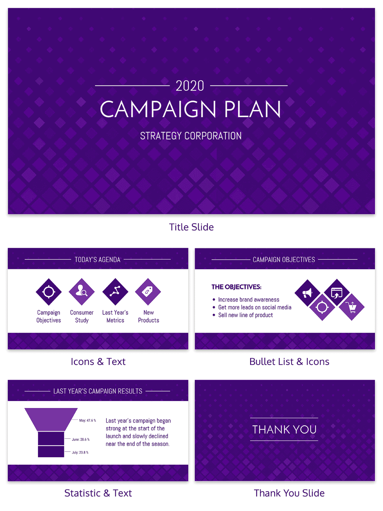 Marketing Campaign Plan Business Presentation