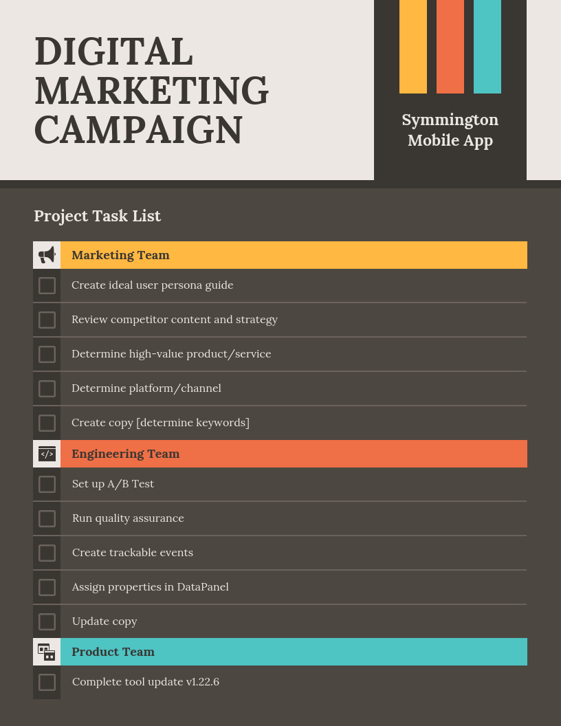 standard operating procedure checklist
