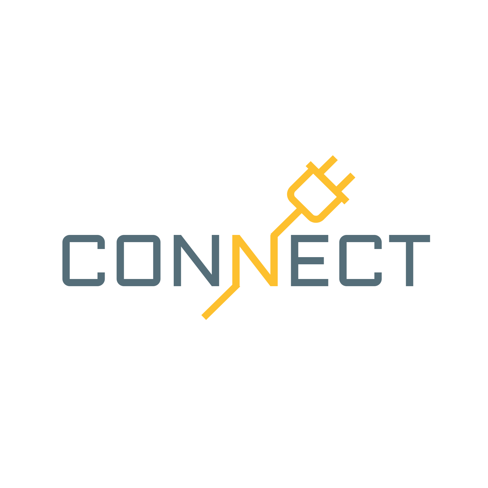 Connect Technology Creative Logo Template