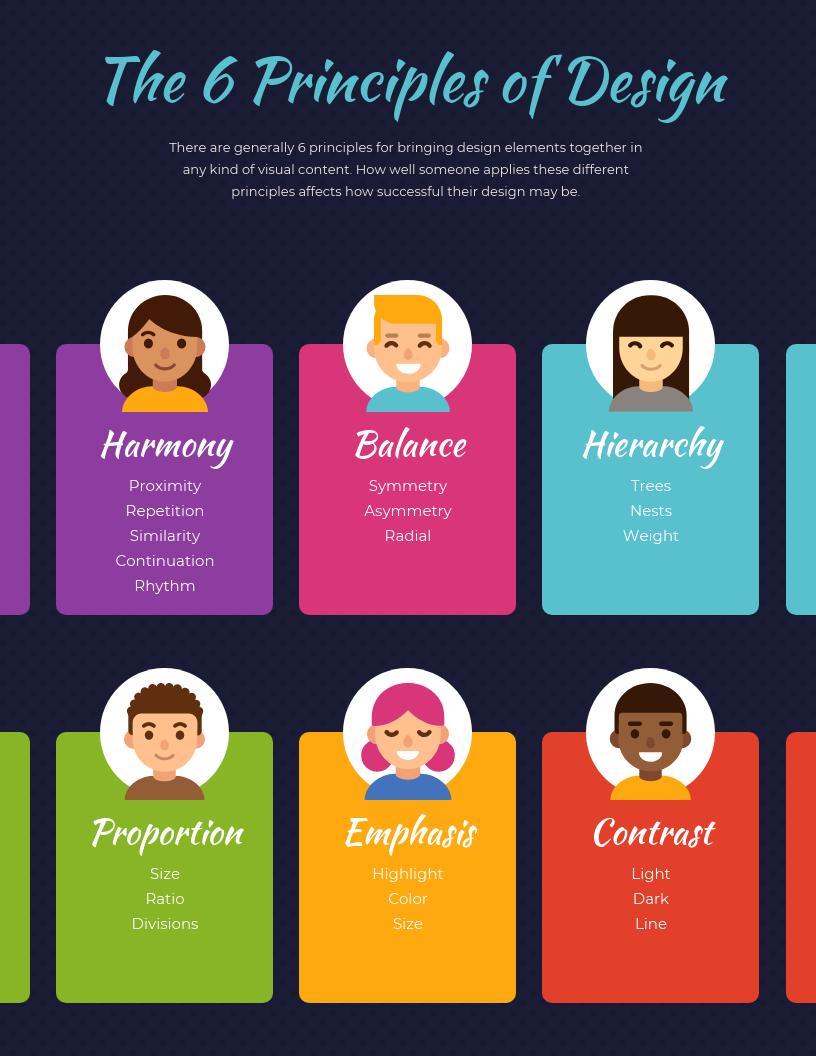 Design Principles Infographic Template