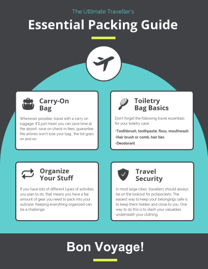 Ultimate Traveller Infographic Template