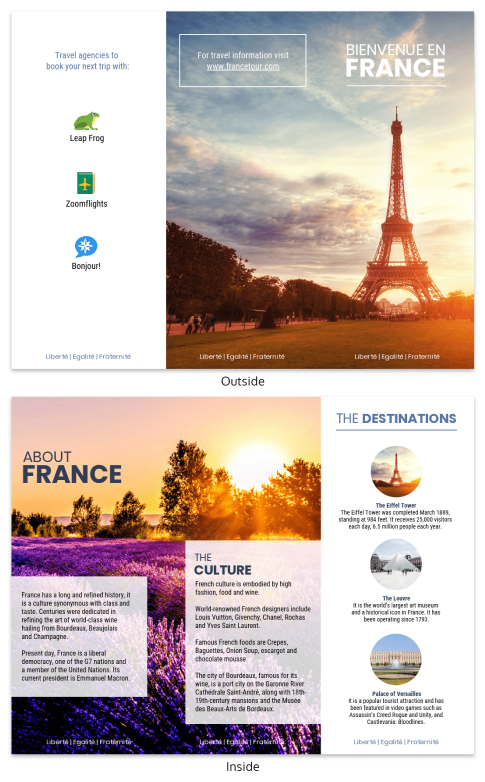 Travel Brochure Templates Venngage