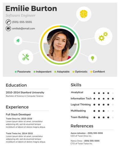 online resume maker - make your own resume