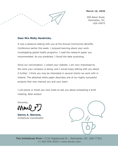 dr letterhead template