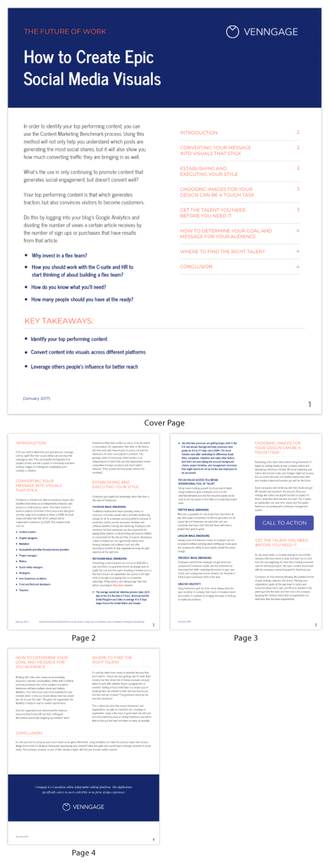 Design Your Own White Paper - Venngage