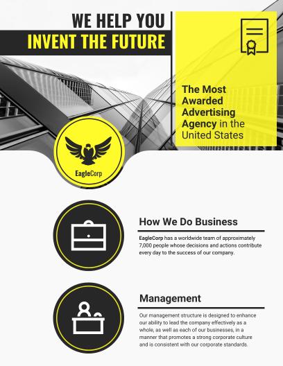 flyer infographic
