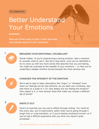 infographic maker venngage your emotions infographic template