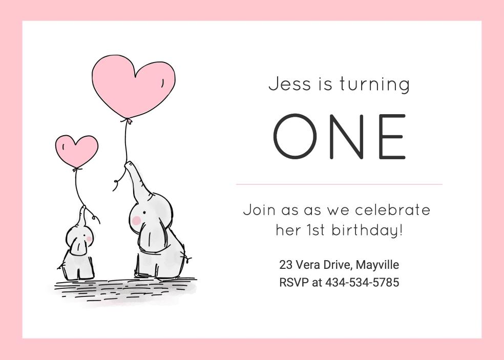birthday invitation templates venngage