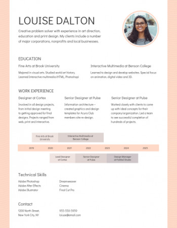 Resume Templates Venngage