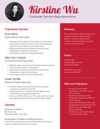 Venngage Resume from s3.amazonaws.com