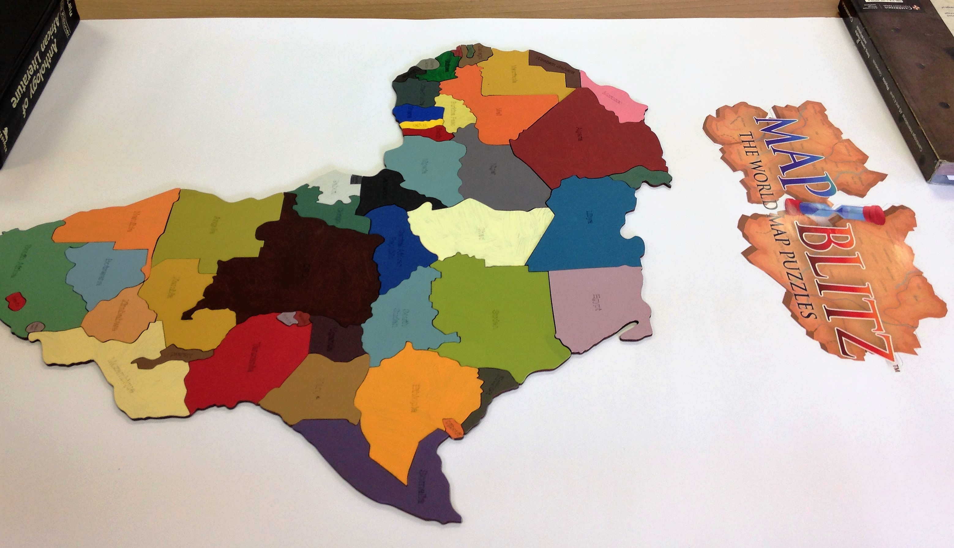 A proudly south african product map blitz is a new unique map blitz is a proudly south african product made in south africa each country is a wooden piece for example map blitz africa has 49 inland pieces each gumiabroncs Image collections