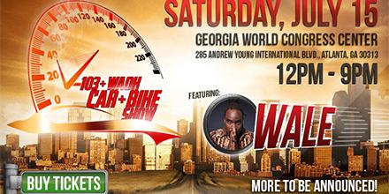 Get Tickets To Th Annual V WAOK Car Bike Show At Georgia - Car show world congress center atlanta