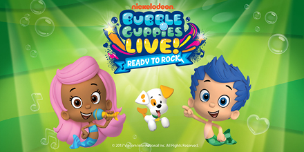 Get tickets to bubble guppies live meet and greet package at the bubbleguppies 440x220 get the ultimate fan experience with the meet and greet package m4hsunfo
