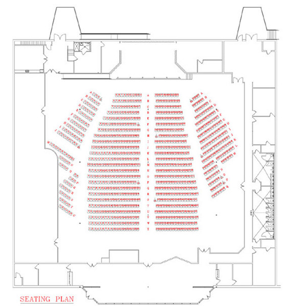 Mill town music hall seating chart