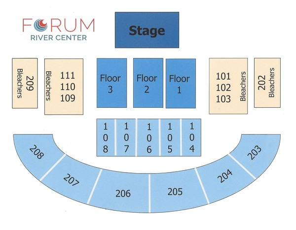 The forum seat map