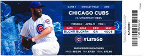 Wrigley Field Tickets