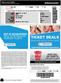 How To Ticketmaster Tickets As Pdf