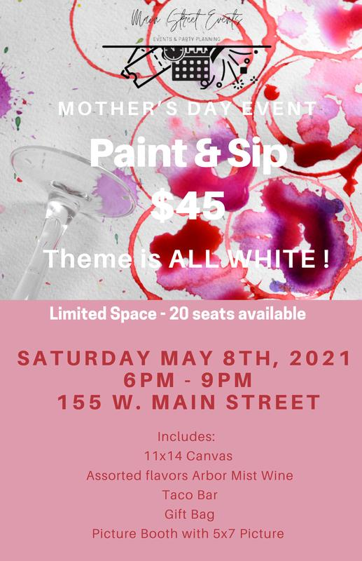 Paint & Sip - Mother's Day