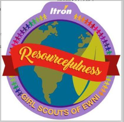Resourcefulness Patch with Itron