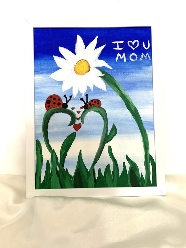 Family Paint Night Mother's Day Edition Ages 8 and UP