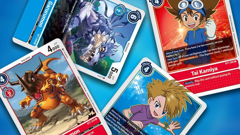 Monday Digimon card game tournament