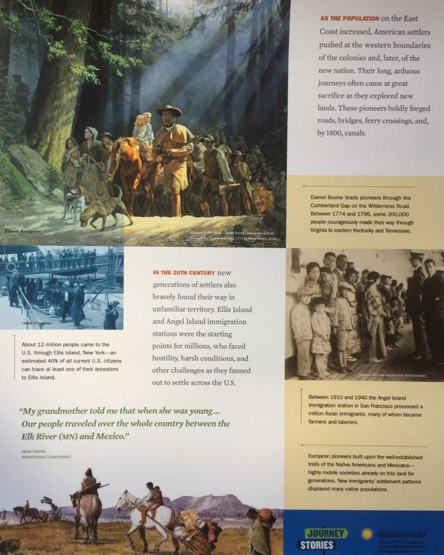 Journey Stories - A Smithsonian Exhibit at the Heard-Craig Center for the Arts