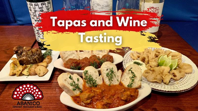 Wine and Tapas Tasting