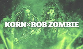Rob Zombie and Korn Tickets