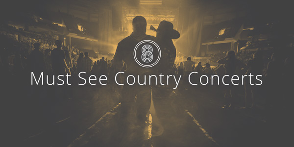 8 must see country concerts