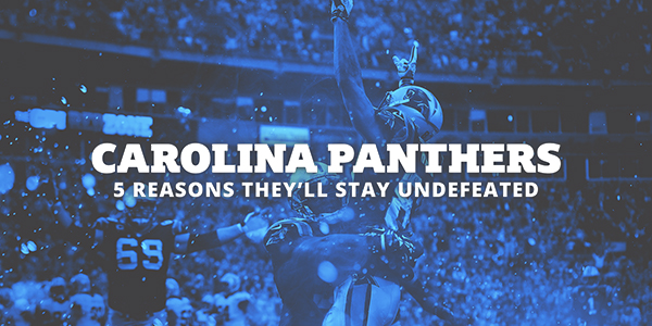 Carolina Panthers: 5 Reasons They'll Stay Undefeated!