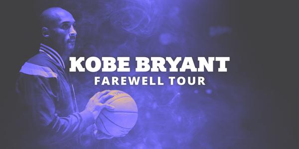 Kobe Bryant Farewell Tour