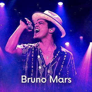 imagem ingressos Bruno Mars