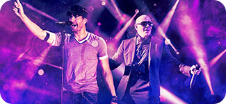 Enrique Iglesias & Pitbull tickets