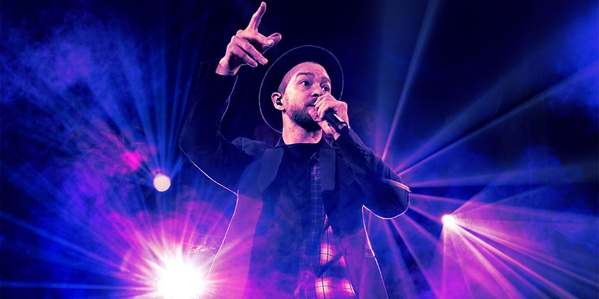 ingressos show Justin Timberlake