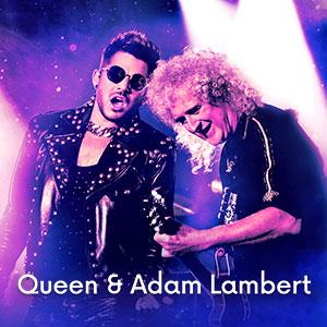Imagem Ingressos Queen & Adam Lambert