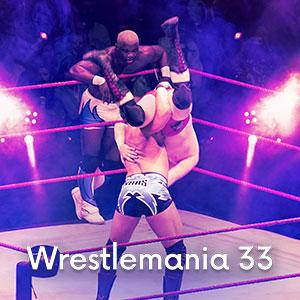 Imagem Ingressos WWE Wrestlemania XXXIII