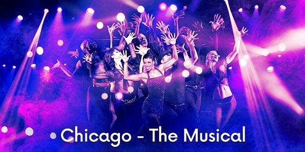 image billets Chicago - La Comédie Musicale