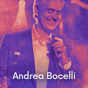 Imagem Ingressos Andrea Bocelli