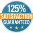 125% Satisfaction Guarantee!