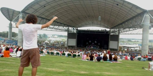 Enjoy a show at the amphitheater!