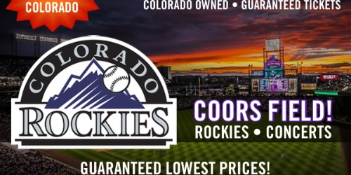 Coors Field Colorado Rockies