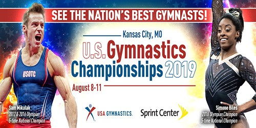 US Gymnastics Championships Tickets