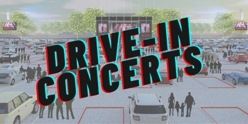 Drive in concert events