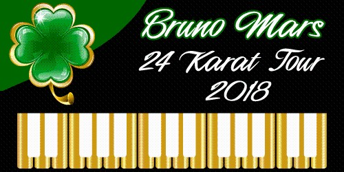 Six Time Grammy Music Award Winner, Bruno Mars!