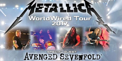 Buy Metallica Tickets with Avenged Sevenfold, Volbeat and Gojira!